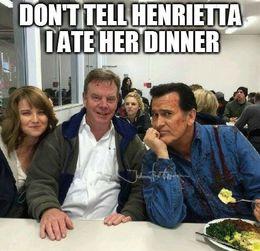 Evil dead henrietta funny memes