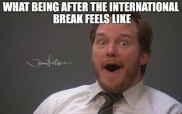 The international break memes