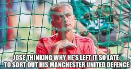 Man united defence memes
