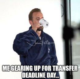 Deadline day memes