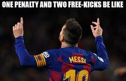 Two free kicks memes